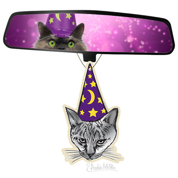 Wizard Cat Air Freshener-Archie McPhee