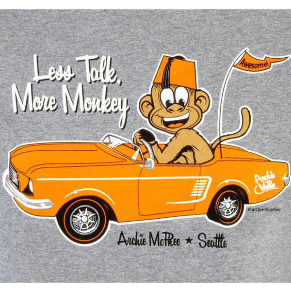 Monkey Car T-Shirt-Archie McPhee