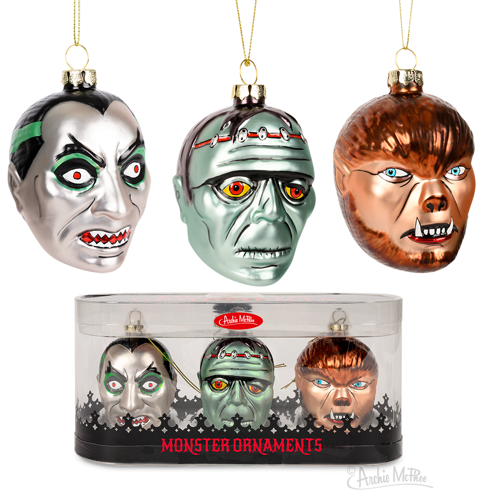 Monster Ornament Set