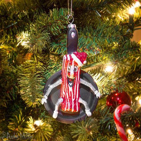 Mr. Bacon Ornament