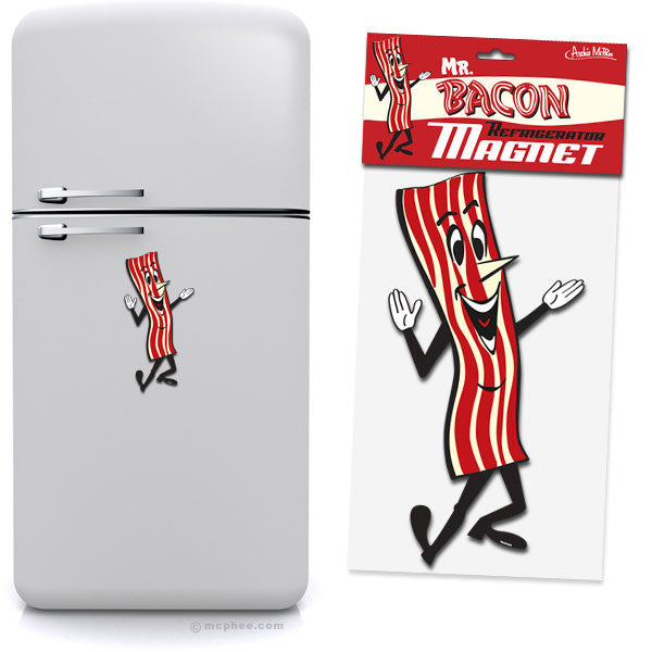 Mr. Bacon Jumbo Magnet-Archie McPhee