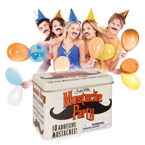 Mustache Party-Archie McPhee