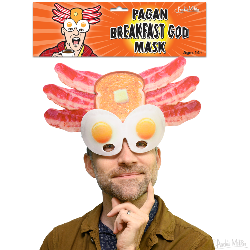 Pagan Breakfast God Mask