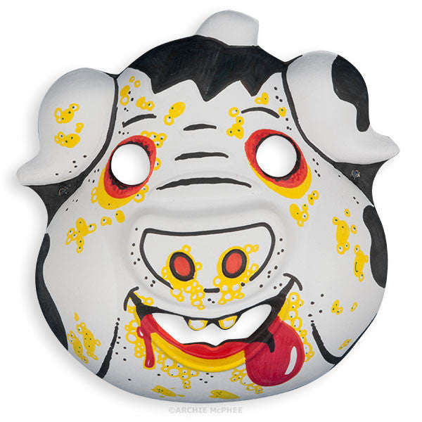 Paper Pig Mask - Small - Archie McPhee - 2