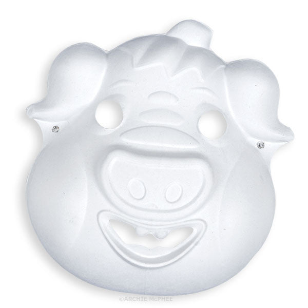 Paper Pig Mask - Small - Archie McPhee - 1