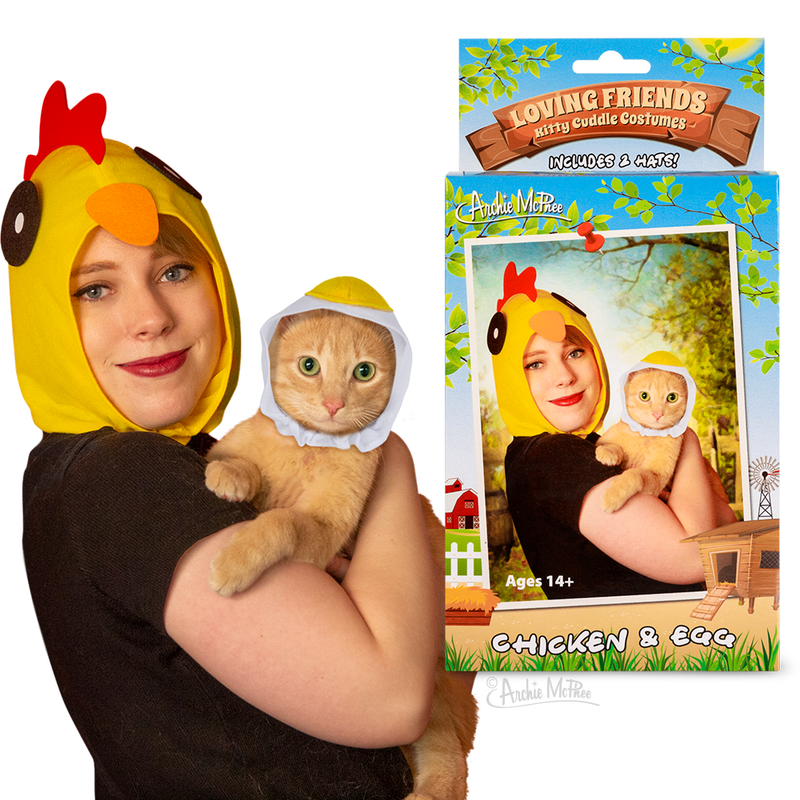 Loving Friends Kitty Cuddle Costumes: Chicken & Egg