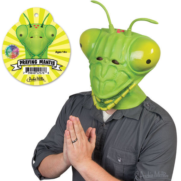 Praying Mantis Mask - Archie McPhee - 1