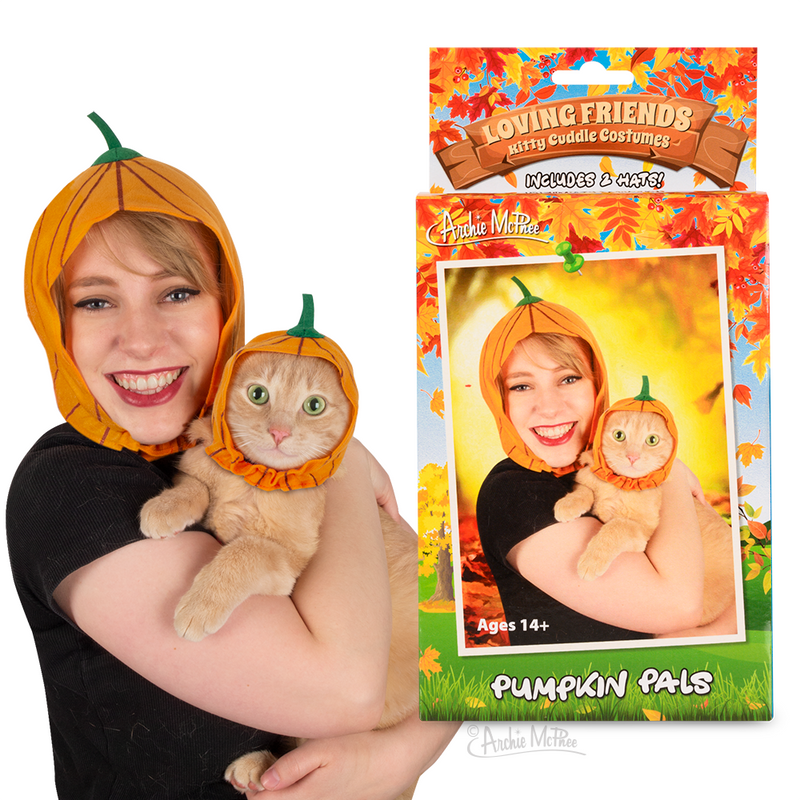 Loving Friends Kitty Cuddle Costumes: Pumpkin Pals