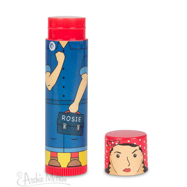 Rosie the Riveter Lip Balm - Archie McPhee - 2
