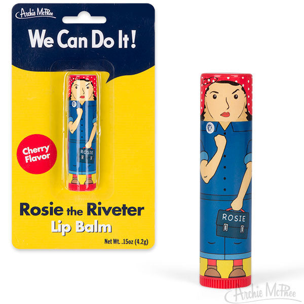 Rosie the Riveter Lip Balm - Archie McPhee - 1