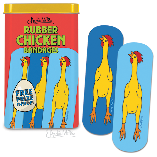 Rubber Chicken Bandages - Bulk Box