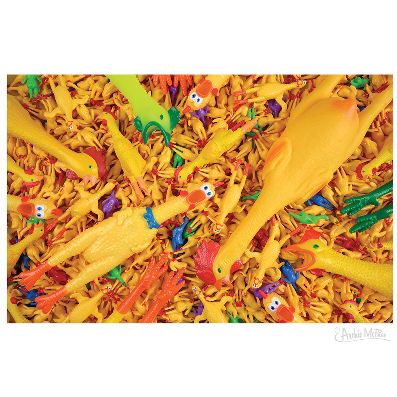 Rubber Chicken Madness Puzzle