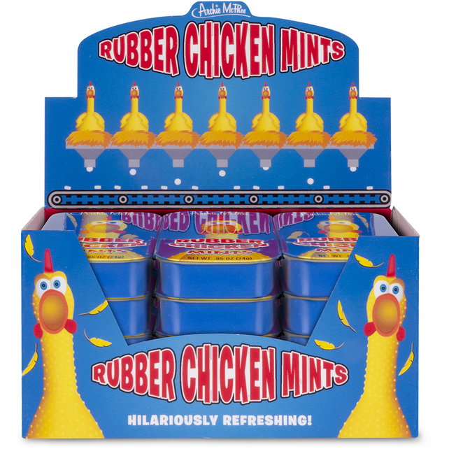 Rubber Chicken Mints - Bulk Box
