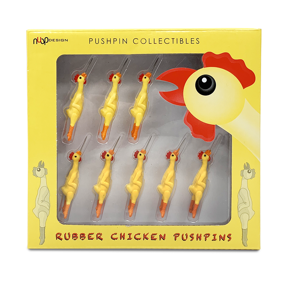 Rubber Chicken Pushpins