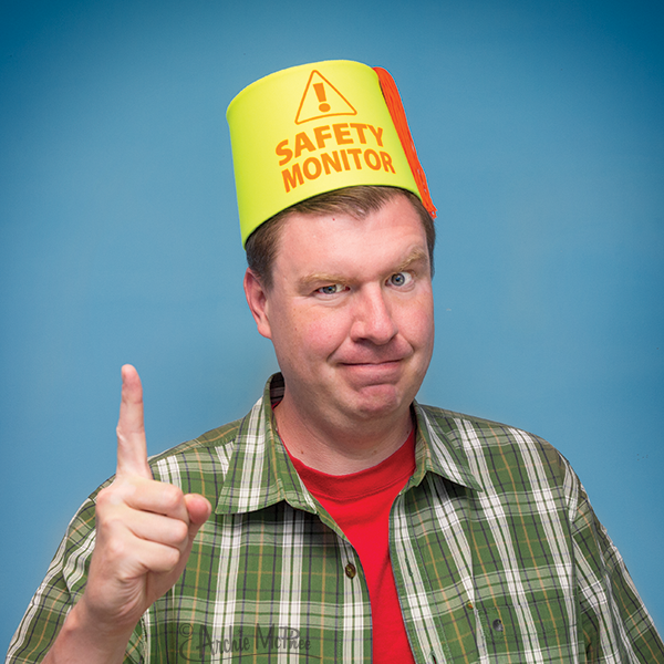 Safety Monitor Fez-Archie McPhee