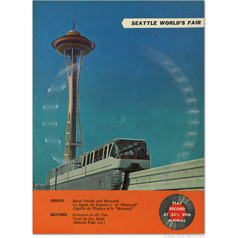 Seattle World's Fair Postcard Records