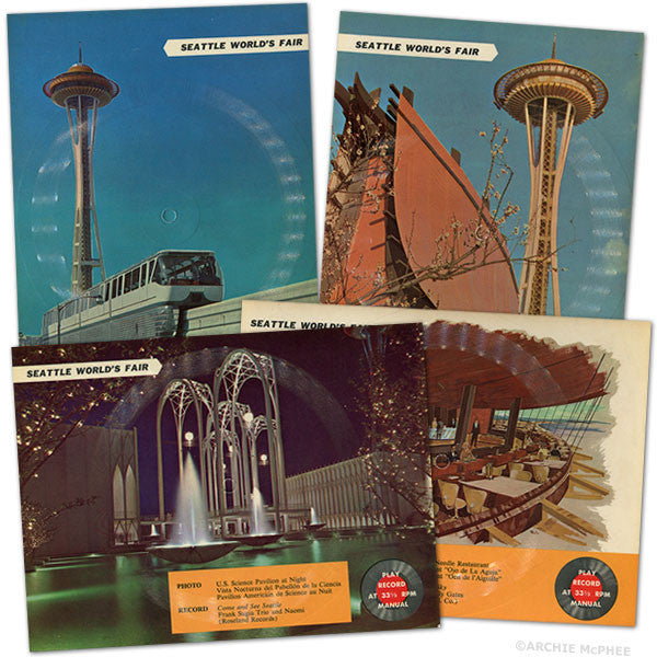 Seattle World's Fair Postcard Records-Archie McPhee