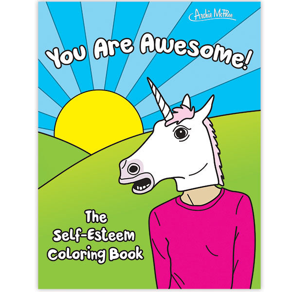 Self-Esteem Coloring Book-Archie McPhee