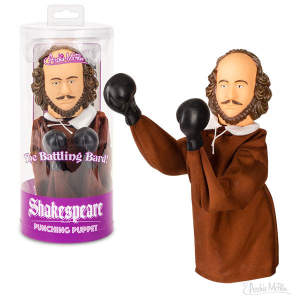 Shakespeare Punching Puppet-Archie McPhee