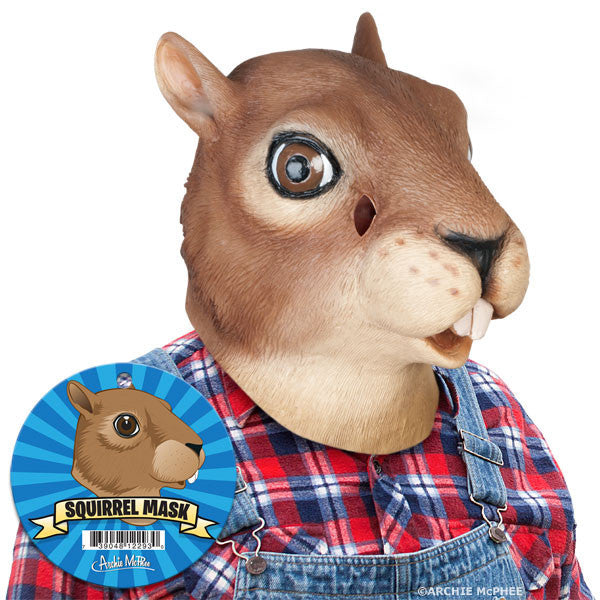 Squirrel Mask - Archie McPhee - 2