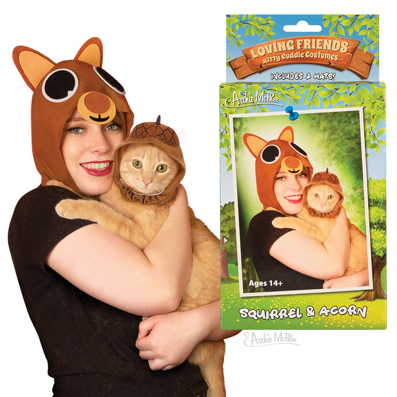 Loving Friends Kitty Cuddle Costumes: Squirrel & Acorn