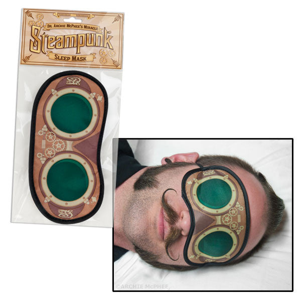 Steampunk Sleep Mask-Archie McPhee