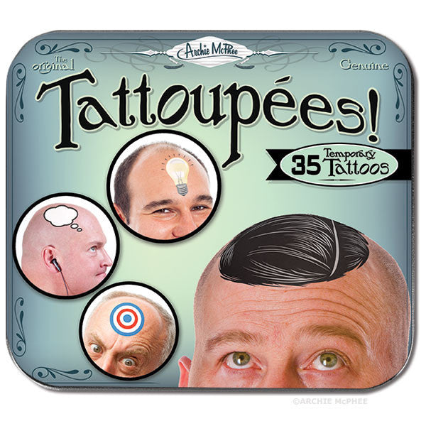 Tattoupees - Archie McPhee - 2