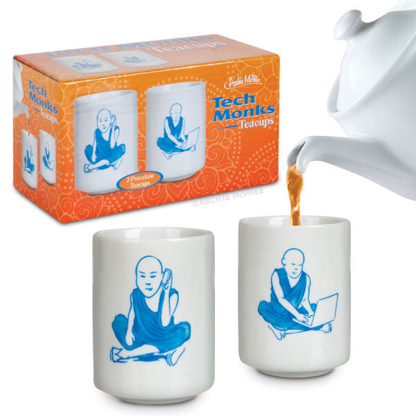 Tech Monks Teacups - Archie McPhee - 1