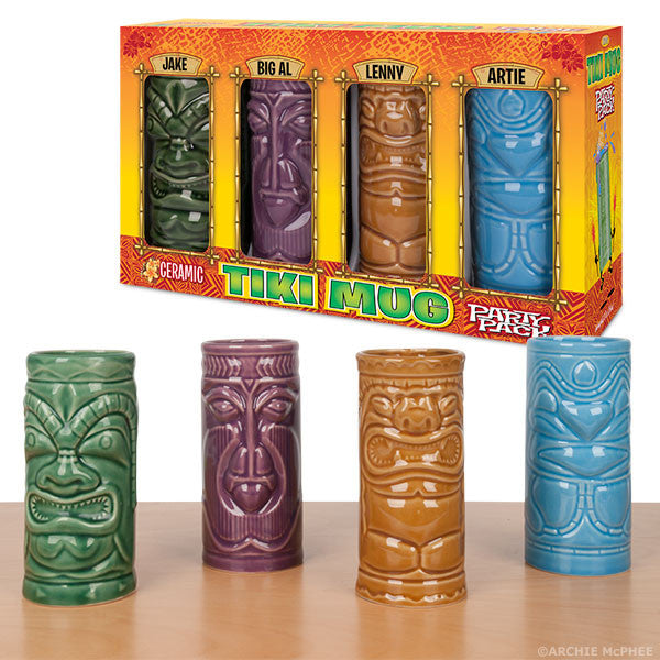 Tiki Mugs Archie Mcphee Amp Co