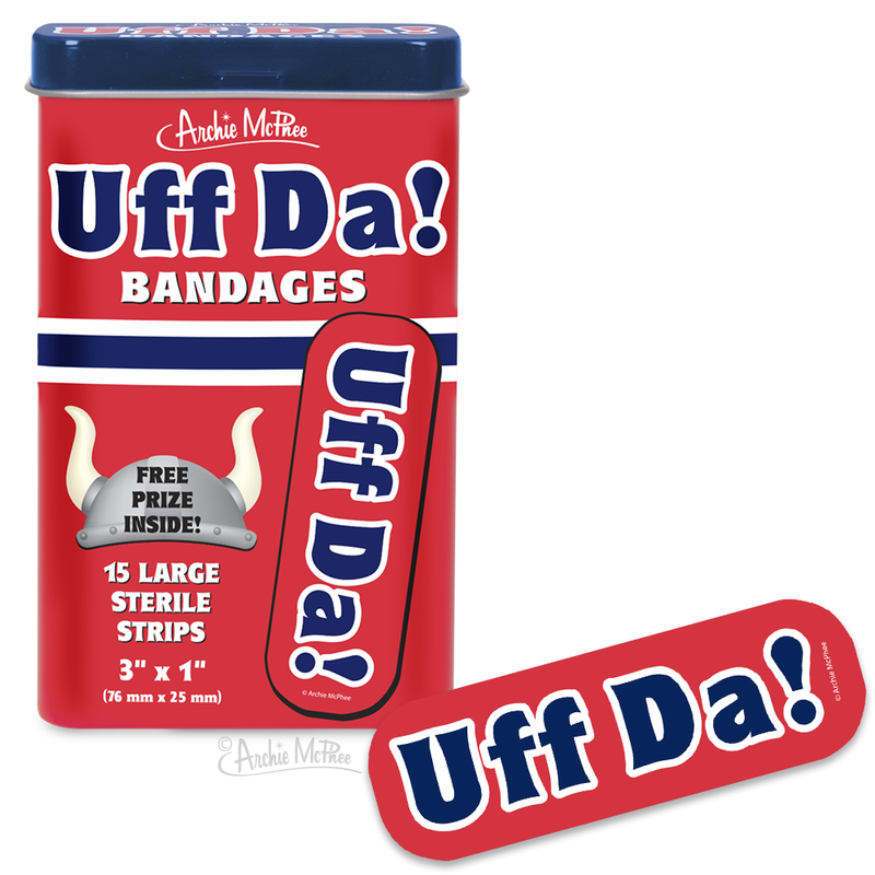 Uff Da! Bandages - Bulk Box