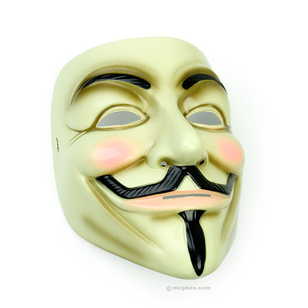 V For Vendetta Mask-Archie McPhee
