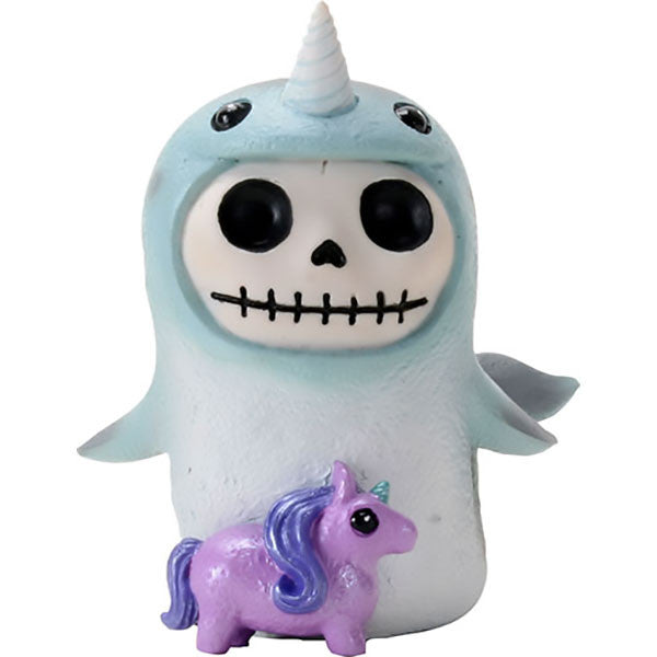 Furrybones Whally Narwhal-Archie McPhee