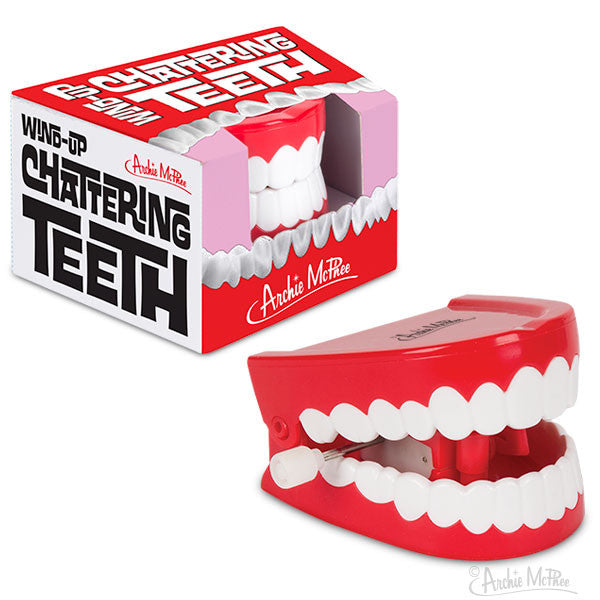 Wind-Up Chattering Teeth-Archie McPhee