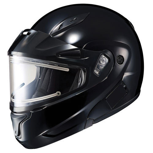 Snowmobile Helmets With Electric Shields