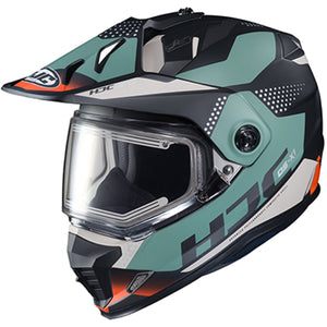 HJC DS-X1 Tactic Snowmobile Helmet With Electric Shield