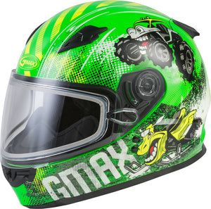 GMAX GM-49Y Beasts Snowmobile Helmet Youth