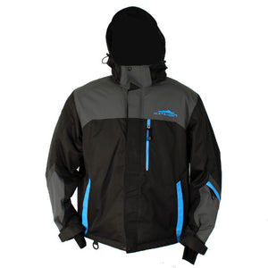 Katahdin Assault Snowmobile Jacket  Black/Gray/Blue