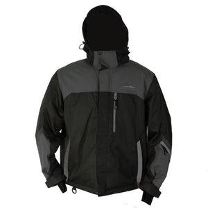 Katahdin Assault Snowmobile Jacket  Black/Charcoal