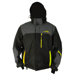 Katahdin Assault Snowmobile Jacket  Black/Gray/Hi Viz