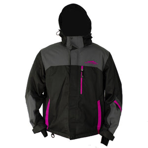 Katahdin Assault Snowmobile Jacket Black/Gray/Pink