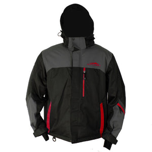 Katahdin Assault Snowmobile Jacket  Black/Gray/Red