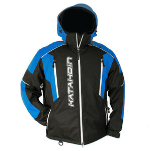 Katahdin Mission Snowmobile Jacket Mens Black/Blue