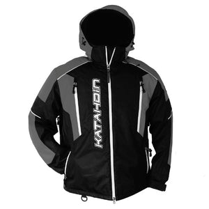 Katahdin Mission Snowmobile Jacket Mens Black/Grey