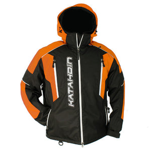 Katahdin Mission Snowmobile Jacket Mens Black/Orange