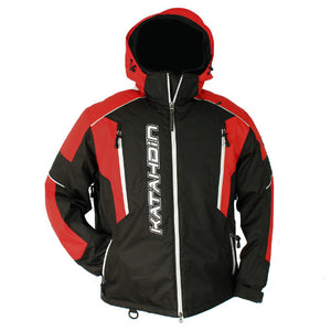 Katahdin Mission Snowmobile Jacket Mens Black/Red