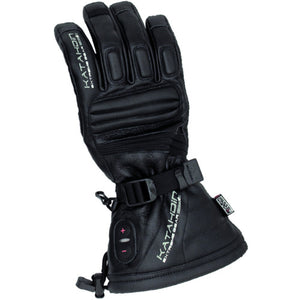 Katahdin Torch Heated Leather Snowmobile Gloves Mens