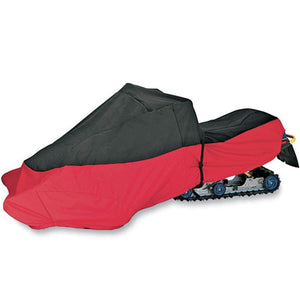 Total Cover Snowmobile Cover In Red PU40030106T
