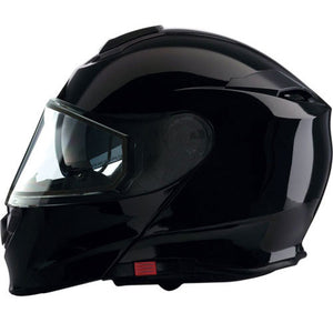 Z1R Solaris Modular Snowmobile Helmet Gloss Black