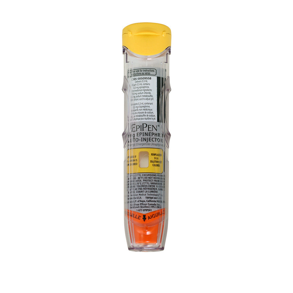 Epipen 174 Epinephrine Auto Injector Adult 0 3mg