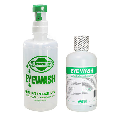 Eyewash Station with 1L of solution